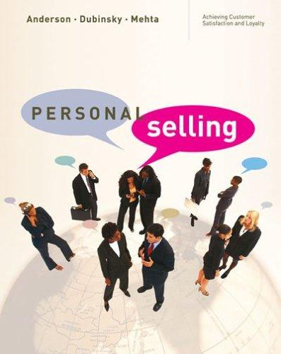 Lecture on Personal Selling
