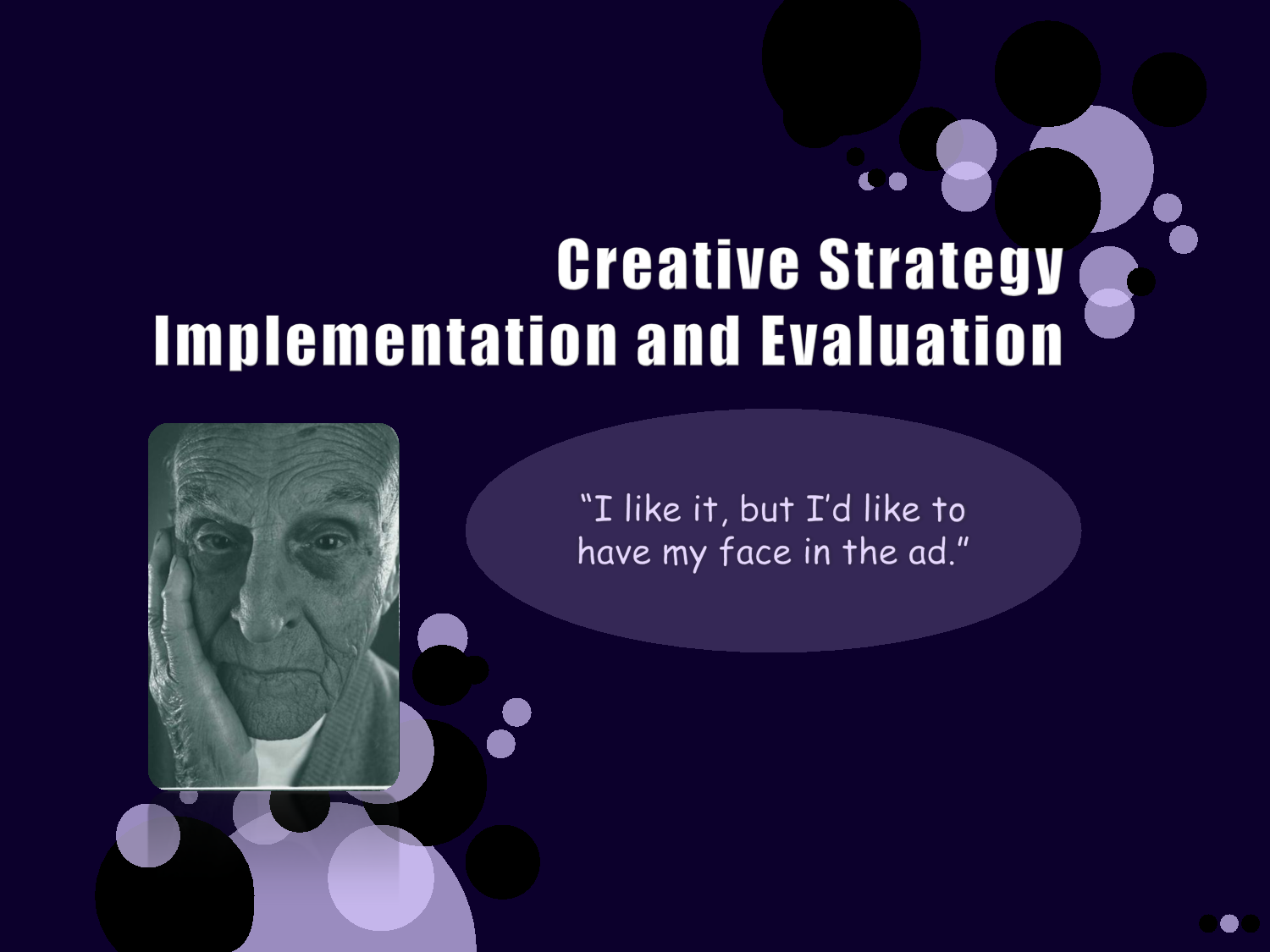 Lecture on Creative Strategy Implementation and Evaluation