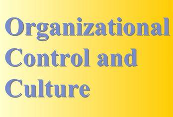 Organizational Control and Culture