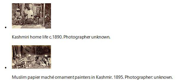 Kashmiri home life