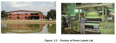 Factory of Enam Labels Ltd