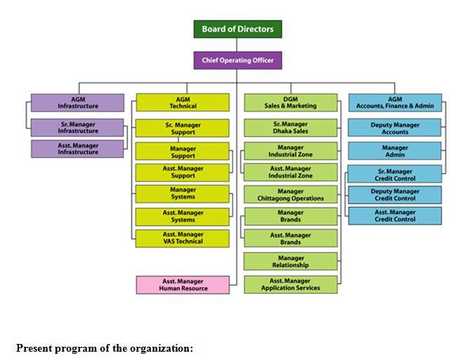 organogram-of-organisation