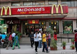 McDonald's Entry to India