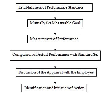 Process of Performance Appraisal