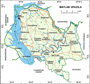 matlab upozila map