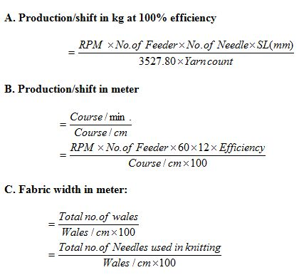 production-calculation
