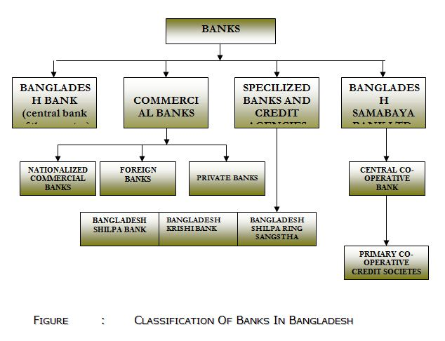 CLASSIFICATION OF BANKS IN BANGLADESH