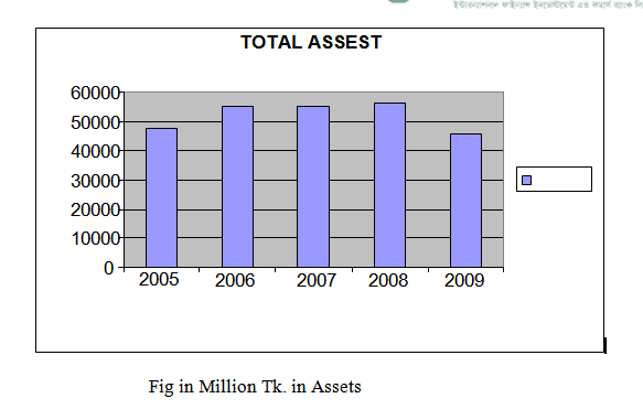 Fig in Million Tk. in Assets