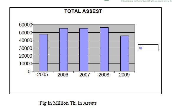 Fig in Million Tk. in Assets