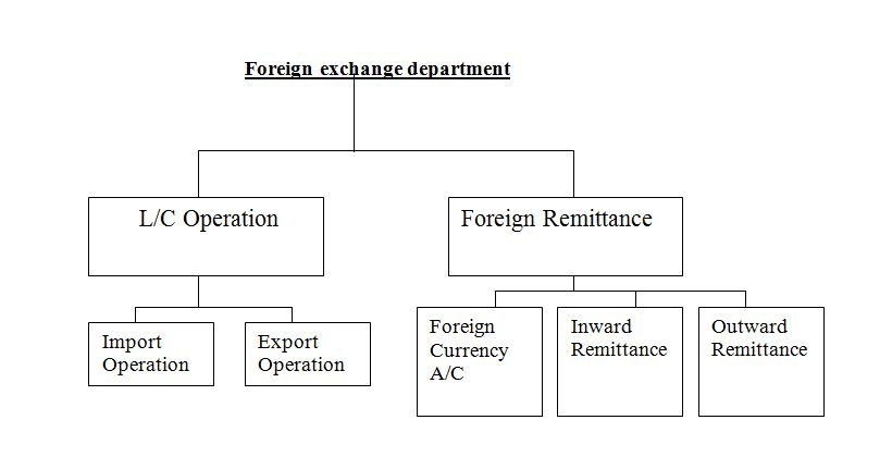 Foreign exchange department