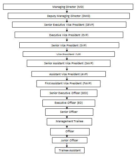 Organizational Hierarchy of SBL
