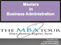 Report on Orientation of MBA Program