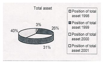 Position of total asset