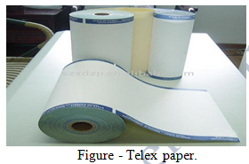 telex paper