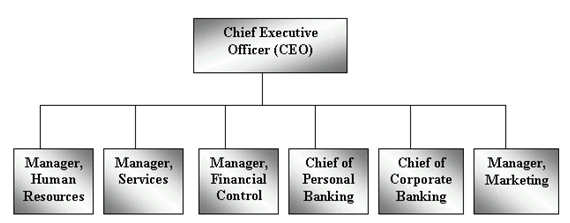 Organisational Structure of Barclays Bank - Essay