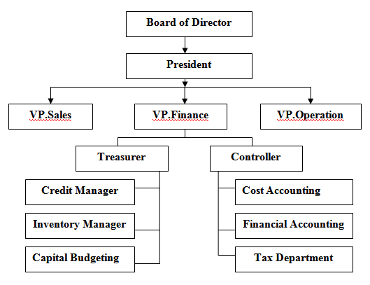 assignment on financial management and its area of activities  role of finance in a typical business organization