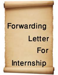 Forwarding Letter for Internship