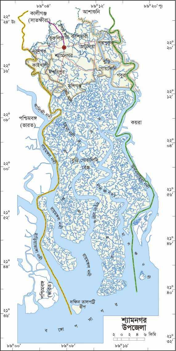satkghira map