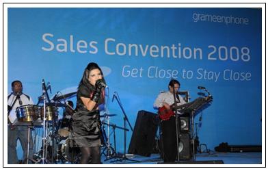 Live concert by singer Mila