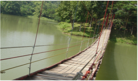 Meghla hanging bridge