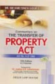 Evaluation of the Provisions of Transfer of Property Act 1882 Relating to Gift