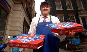 Relationship with workers in Domino's Pizza Inc