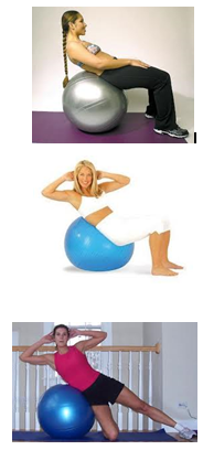 SWISS BALL EXERCISES