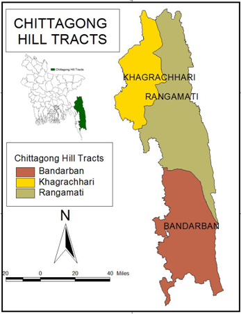 Study Area - Chittagong hill tracts