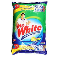 white detergent powder