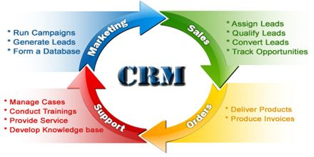 Linking Strategies and Sales Role in Customer Relationship Managements