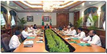 Maldives is a presidential republic