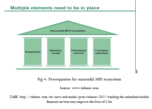 Prerequisites for successful MFS ecosystem