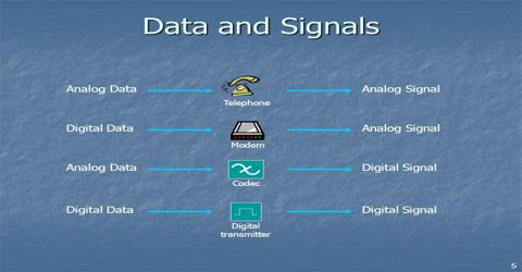 Data Communication and Networking: Data and Signals