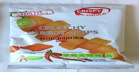 Presentation on Crispy Carrot Chips