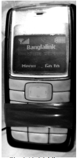 Mobile set