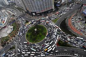 The Growth of Traffic Congestion