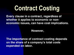 Contemporary cost accounting term papers