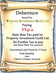 What is Meant by Debenture?