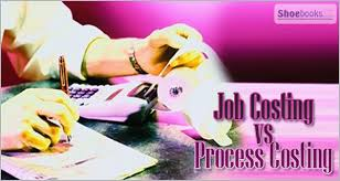 Difference between Job costing and Process Costing