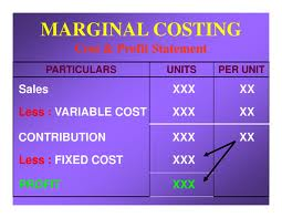 What is Meant by Marginal Costing?