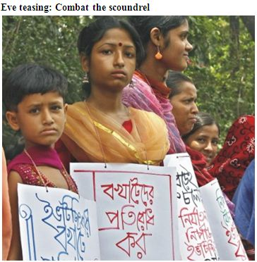 Assignment on Eve-Teasing.