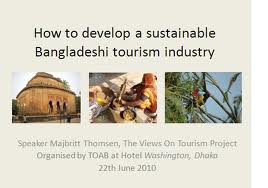 Develop tourism