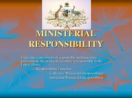 Ministerial Responsibility in Bangladesh