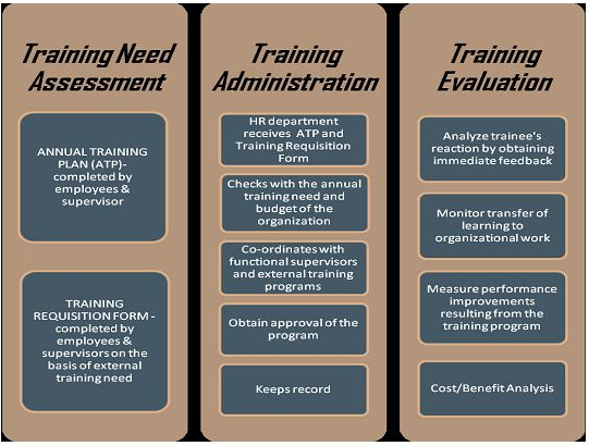 Steps in Training and Development Process