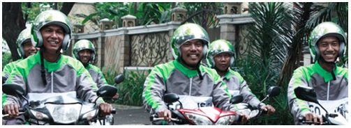 Motorcycle Service for Reducing Traffic Jam