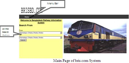Report on Bangladesh Railway Information System