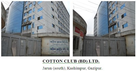 Report on Industrial Training of Cotton Club BD Limited