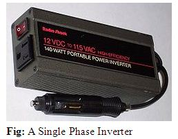Project Report on Single Phase Inverter