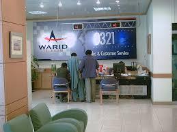 Customer Service of Warid Telecom