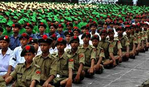 Letter to Friend about the National Cadet Crops Functions